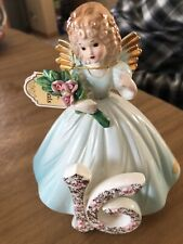 Vintage Josef Originals Birthday Girls Angel Porcelain Doll ~ 16th Birthday