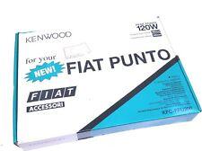 Fiat Punto 188 Kenwood 120W Speaker upgrade Kit Front & Rear + Facia Plate New