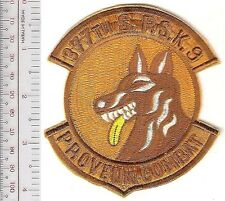 K-9 US Air Force USAF Vietnam 377th Security Police Squadron SPS Tan Son Nhut AB