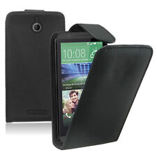 Accessoire Housse Coque Etui Rabattable Simili Cuir NOIR HTC Desire 510