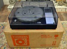 Thorens TD160B MkII with SME Arm Board and original box