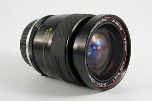 Vintage Vivitar Series 1 24-70mm f/3.8-f/4.8 zoom lens macro Olympus OM mount