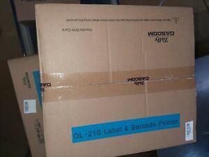Tally Dascom 28.904.0640 DL-210 Thermal Printer Cutter USB 203 dpi, Black