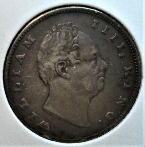 "1835 (c) Silver British India Rupee, ""RS"" Incuse Variety w/ Slight Die Rotation"