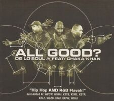 Vintage print Radio Music Promo ad De La Soul feat Chaka Khan All Good 2000