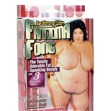 Bambola Gonfiabile Fatima Fong Cicciona Bocca Vagina Ano penetrabili Big grassa