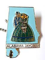Vintage Alabama Jaycees tie tac  pre-owned  excellent