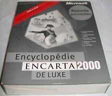 ENCYCLOPEDIE ENCARTA 2000 DE LUXE. Mise à jour.  Windows 95/98.