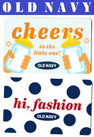 gift cards OLD NAVY Collectible Canada USA store card fashion cheers