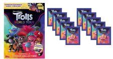 Topps Trolls World Tour Sticker Starteralbum + 10 Tüten Sticker & Stickerkarten