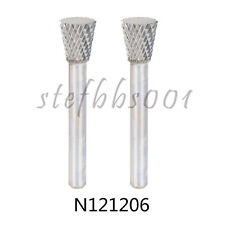 Carbide Inverted Cone Drill Bit Die Grinder Tools Rotary Burr Woodworking #SN-4M