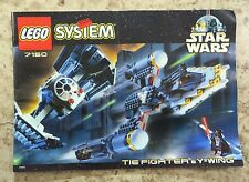 LEGO Star Wars 7150 Instruction Manual ONLY Tie Fighter & Y-Wing