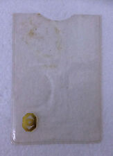 PUBLIC BANK BERHAD RARE VINTAGE SAVINGS ACCOUNT PASSBOOK PLASTIC COVER
