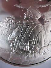 1-OZ SILVER FRANKLIN MINT COIN NORMAN ROCKWELL ROBERT FROST+GOLD DUST OF SNOW