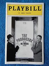 The Producers - St. James Theatre Playbill w/Ticket - July 18th, 2007 - Lane