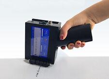 Handheld Intelligent Inkjet Printer Ink Date Coder Coding machine w/ LED Screen
