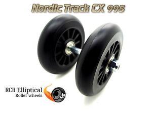 Replacement Nordic Track CX 995 Elliptical Wheel Roller Kit CX995 parts