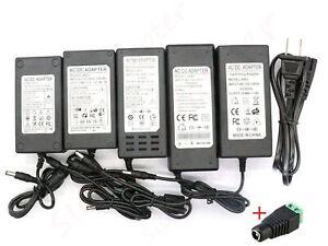 AC 110V To DC 48V 1/2/3/4/5A Transformer Power Supply Adapter For LED Strip CCTV
