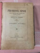 Libro I Promessi Sposi Storia Milanese Del Secolo XVII Di A. Manzoni