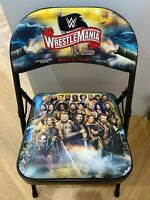 WWE WrestleMania 36 Chair - RARE Ringside Collectable! WWF Wrestling Memorabilia