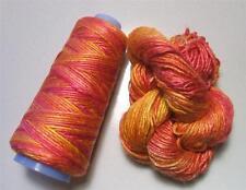 100% Pure Mulberry Duke Silk Yarn 50 gram Worsted Weight Parfait DS017 Lot B