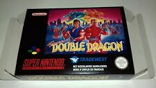 Super Double Dragon - PAL  - Super Nintendo - Snes - Only Box