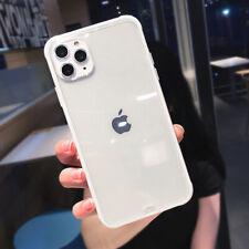 i Phone 11 soft silicone transparent case shockproof bumper