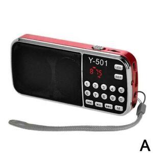Portable HIFI Mini Multifunctional Digital MP3 Radio TF FM Radio USB Z8Z2