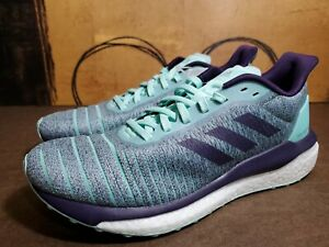 Adidas Solar Drive Turquoise Athletic Running Shoes D97448 Women's Size 8 (b8