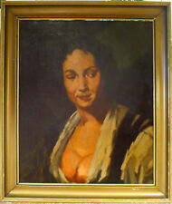 UNSIGNED! PORTRAIT OF A WOMAN. NO RESERVE