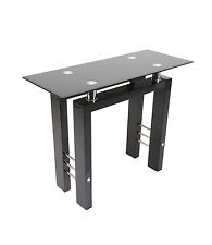 Metro Modern High Gloss Console Table