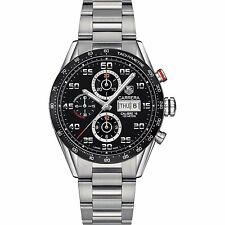 Tag Heuer Men's Carrera 43mm Steel Bracelet Automatic Watch Cv2a1r.ba0799