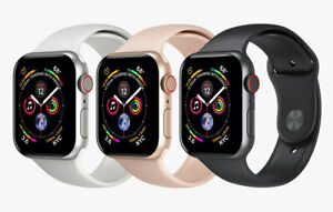 Apple Watch Series 4 40mm 44mm A1978 Aluminum Gray Silver Gold WIFI ONLY Read..