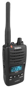 UNIDEN UH850 BAREBONES 5 Watt UHF Waterproof CB Handheld Radio ** NEW MODEL **