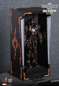 IRON MAN 2 - Neon Tech War Machine Hall of Armor Miniature MMSC013 (Hot Toys)