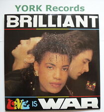 "BRILLIANT - Love Is War - Excellent Condition 7"" Single FOOD 6"