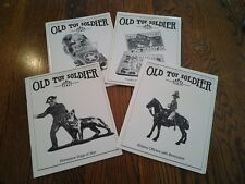 Old Toy Soldier Magazine 2000 All 4 Issues Complete Year In Great Condition