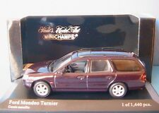 FORD MONDEO TURNIER MKII 1997 CASSIS METALLIC MINICHAMPS 430086312 1/43 PHASE 2