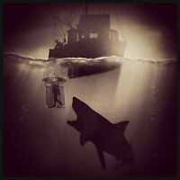 Horror Shark cage attack image T Shirt Men's 6 sizes 8 colours jaws trawler