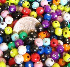 500*5mm Rhinestone Sparkling Dots Acrylic Plastic Beads