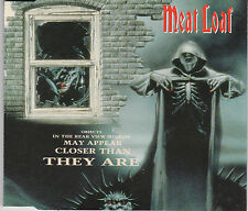 MAXI CD SINGLE 3T MEAT LOAF OBJECTS IN THE REAR VIEW MIRROR MAY APPEAR CLOSER ..