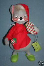 """Annalee 13"""" Holiday Mouse Doll NWT 1965"""