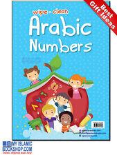 Wipe-Clean Arabic Numbers Islamic Muslim Children Kids book Best Gift Ideas