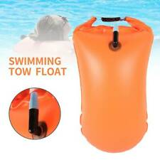 PVC Swimming Buoy Float Bag Safety Air Dry Tow Inflatable Signal Drift Bag UK