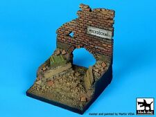 Black Dog 1/35 Stalingrad Ruin Section Russia Wwii Vignette Diorama Base D35028