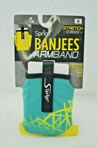 Sprigs - Banjees Armband Small - Green Dash - Exercise Phone Case Jogging/Hiking