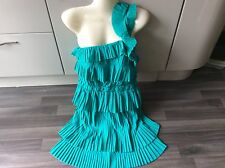 "Designer REISS FRILL LAYERED DRESS SIZE 8 26"" waist races lady's day"