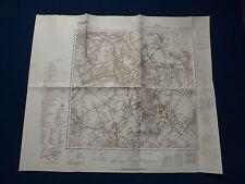 Landkarte Meßtischblatt 5102 Herzogenrath, Würselen, Alsdorf, Richterich, 1945