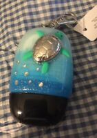 Bath & Body Works Sea Turtle  With Glitter Blue Ombre And Jewels Holder + Gift