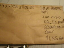 0-8-0 Drive Wheel Set D1 D2 models, 2nd axle only NOS See Photos